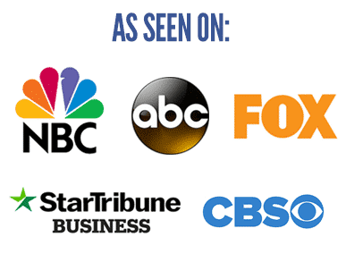 As Seen On Logos for NBC, CBS, Fox